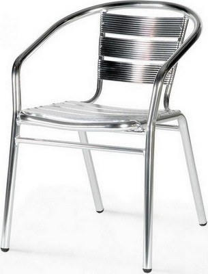 Стул Афина LFT-3059 Silver metallic стул алюминевый afina garden lft 3059 silver metallic