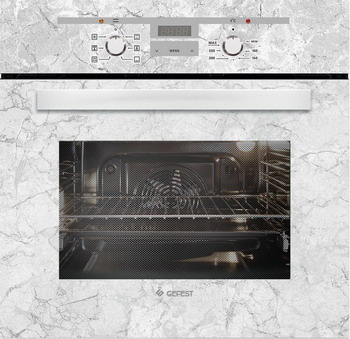 Встраиваемый электрический духовой шкаф GEFEST ЭДВ ДА 622-02 К52 встраиваемый электрический духовой шкаф gefest эдв да 622 02 к26
