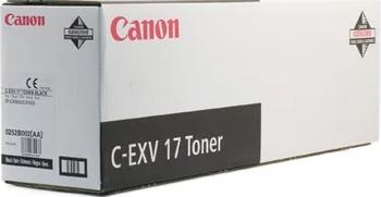 Тонер-картридж Canon C-EXV 17 Bk 0262 B 002 Чёрный