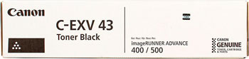 Тонер-картридж Canon C-EXV 43 2788 B 002 Чёрный