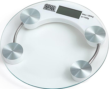 Весы напольные GoodHelper BS-S50 прозрачное стекло goodhelper bs s40 розовый