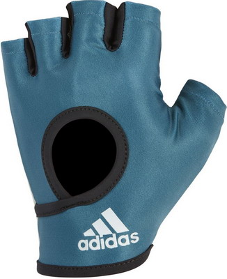 Перчатки Adidas Petrol - M ADGB-12624 худи женское adidas fl prime hoodie цвет синий du1304 размер m 48
