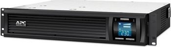 купить Источник бесперебойного питания APC Smart-UPS C SMC1500I-2U 900Вт 1500ВА черный по цене 60690 рублей