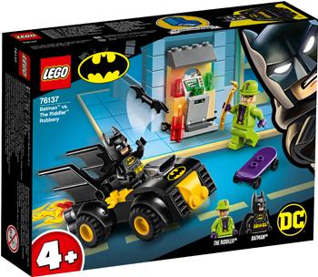 Конструктор Lego Бэтмен и ограбление Загадочника 76137 конструктор lego batman movie нападение на бэтпещеру 70909