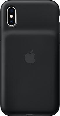 Чехол с аккумулятором Apple Smart Battery Case для iPhone XS черный цвет MRXK2ZM/A аксессуар чехол аккумулятор apple iphone 7 smart battery case black mn002zm a