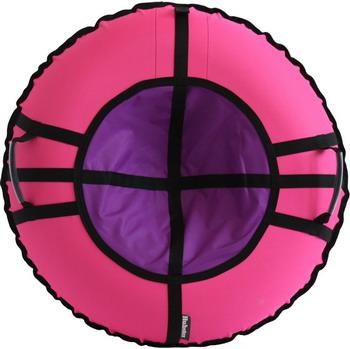 Тюбинг Hubster Ринг Хайп розовый-фиолетовый 90 см во5657-1