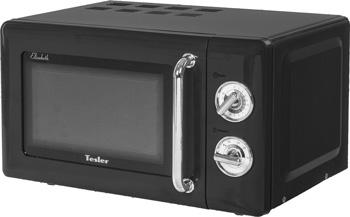 Фото - Микроволновая печь - СВЧ TESLER MM-2045 BLACK 5028 3 печь свч first объем 20 л мощность микроволн 700 вт 6 уровней мощности