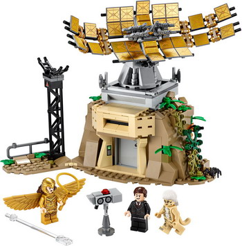 цена Конструктор Lego Super Heroes Чудо-женщина против Гепарды 76157 онлайн в 2017 году