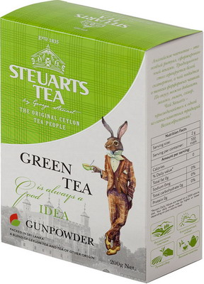 Чай зеленый Steuarts Green Tea Gunpowder 200 гр