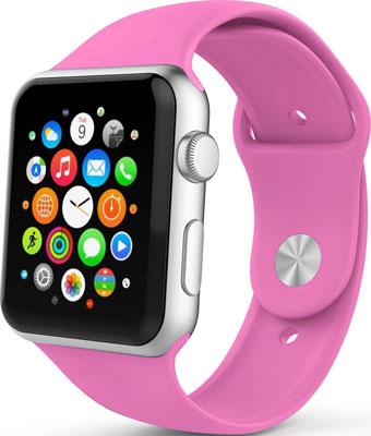 Ремешок спортивный Eva для Apple Watch 38/40 mm Фуксия (AVA001BR)