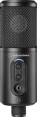 Фото - Микрофон конденсаторный студийный Audio-Technica ATR2500x-USB fx audio d802 remote control input usb coaxial optical hifi 2 0 pure digital audio amplifier 24bit 192khz 80w 80w oled display