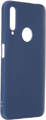 Чеxол (клип-кейс) mObility софт тач для Huawei Honor 9X PRO/9X Premium (синий)