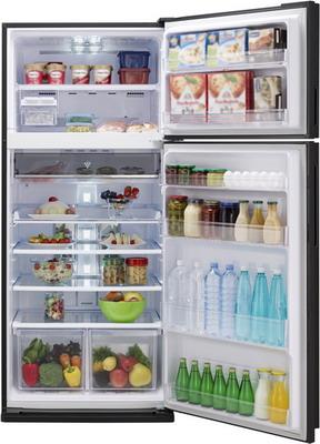 Двухкамерный холодильник Sharp SJ-XE 59 PMSL sharp sj xe 55 pmsl 30