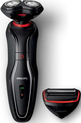 Электробритва Philips S 728/17 Click & Style черный/красный philips philips rq 1155 синий роторная синий роторная