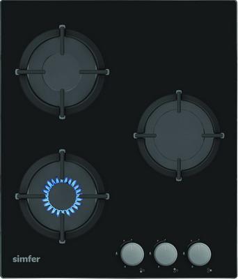 цена на Встраиваемая газовая варочная панель Simfer H 45 N 30 B 412