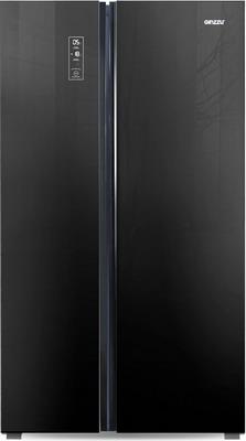 все цены на Холодильник Side by Side Ginzzu NFK-530 черный онлайн