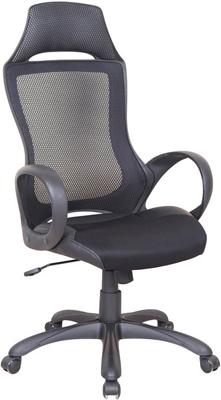 Кресло Tetchair MESH-3 ткань/кож/зам черный