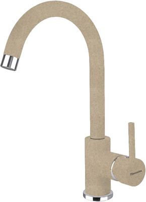 Кухонный смеситель Florentina Альфа песочный AV кухонный смеситель florentina fl 02 арес песочный