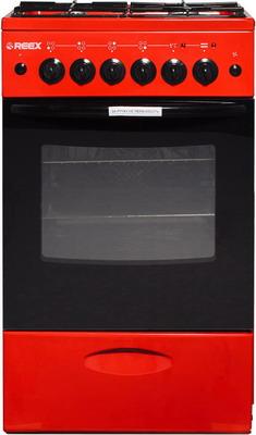 Комбинированная плита Reex CGE-540 ecRd красный газовая плита reex cge 540 ecbk
