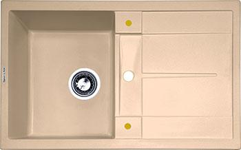 Кухонная мойка Zigmund & Shtain Rechteck 780 топленое молоко фото