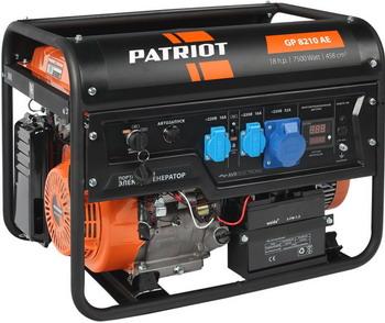Электрический генератор и электростанция Patriot GP 8210 AE