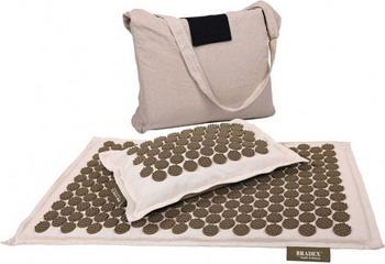 Набор акупунктурный Bradex НИРВАНА (подушка коврик сумка) KZ 0581