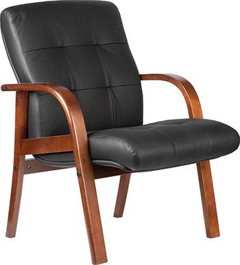 Кресло Riva Chair М 165 D/B Тай Чёрная кожа