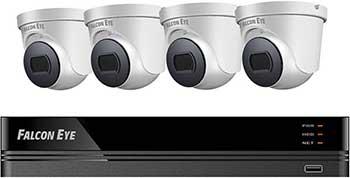 Комплект видеонаблюдения Falcon Eye FE-104MHD KIT Дом SMART
