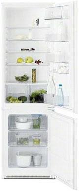 цена Встраиваемый двухкамерный холодильник Electrolux ENN 92801 BW онлайн в 2017 году