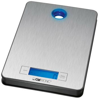 Кухонные весы Clatronic KW 3412 inox clatronic kw 3626 black кухонные весы