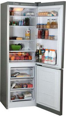 Двухкамерный холодильник Indesit DFM 4180 S цена и фото