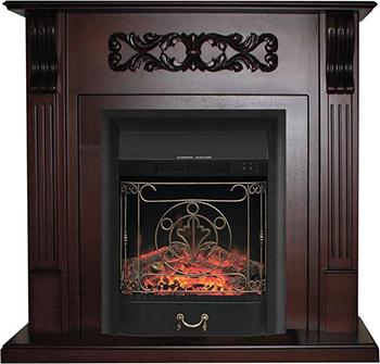 цены на Каминокомплект Royal Flame VENICE с очагом Majestic Black(махагон коричневый антик) (64902678) в интернет-магазинах