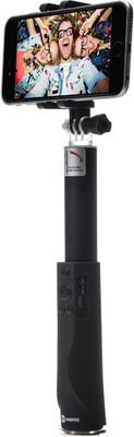 Ручной телескопический монопод для селфи Harper RSB-304 Black