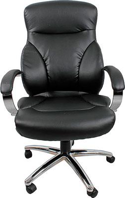 Кресло College H-9582 L-1K Черный кресло руководителя college h 9582l 1k черный