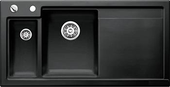 Кухонная мойка BLANCO 524150 AXON II 6 S (чаша слева) керамика черный PuraPlus с кл.-авт. InFino axon c 105