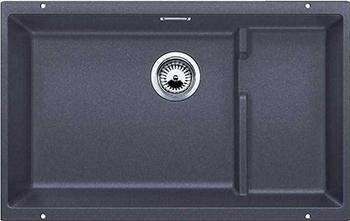 Кухонная мойка BLANCO 523539 SUBLINE 700-U Level SILGRANIT темная скала с отв.арм. InFino цены онлайн