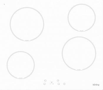 Встраиваемая электрическая варочная панель Korting HK 60001 BW 95% new original laserjet formatter board for hp pro200 m251 m251dn 251nw cf153 60001 cf152 60001 printer part on sale