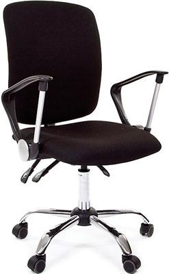 chairman 769 черный хром Офисное кресло Chairman 9801 15-21 черный хром N-А