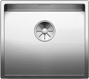 Кухонная мойка BLANCO CLARON 450-U нерж. сталь зеркальная полировка 521575 тройник 90° 0 8x120 мм зеркальная нержавеющая сталь