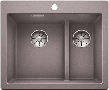 Кухонная мойка Blanco PLEON 6 Split алюметаллик без клапана 521691 цена