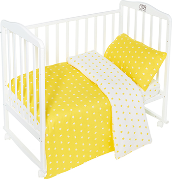 Комплект постельного белья Sweet Baby Stelle Giallo цена
