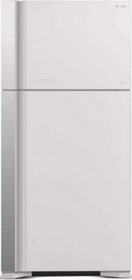 Двухкамерный холодильник Hitachi R-VG 662 PU7 GPW белое стекло цена и фото
