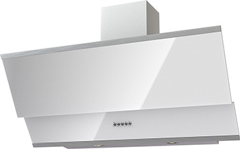 Вытяжка Krona Steel IRIDA 900 white push button цена и фото