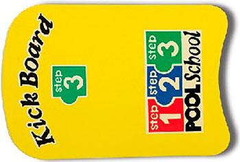 Фото - Доска для плавания Intex 46х30см ''Школа плавания Intex - шаг 3'' от 3 лет 59168 аквапалка для плавания