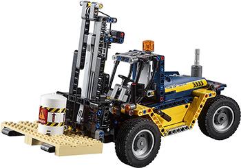 Конструктор Lego TECHNIC Сверхмощный вилочный погрузчик bruder погрузчик вилочный linde h30d