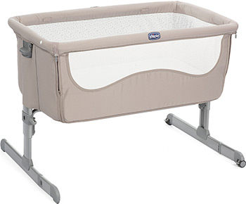 Детская кроватка Chicco Next2Me цвет Light Chick To Chick детская кроватка chicco next2me standard pearl 00079339840000