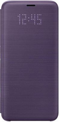 Чехол (флип-кейс) Samsung S9 (G 960) LED-View violet EF-NG 960 PVEGRU цена 2017