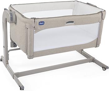 Детская кроватка Chicco Next2Me Magic (Sand) недорого