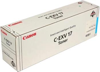 цена на Тонер-картридж Canon C-EXV 17 C 0261 B 002 Голубой