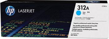 Картридж HP CF 381 A Голубой